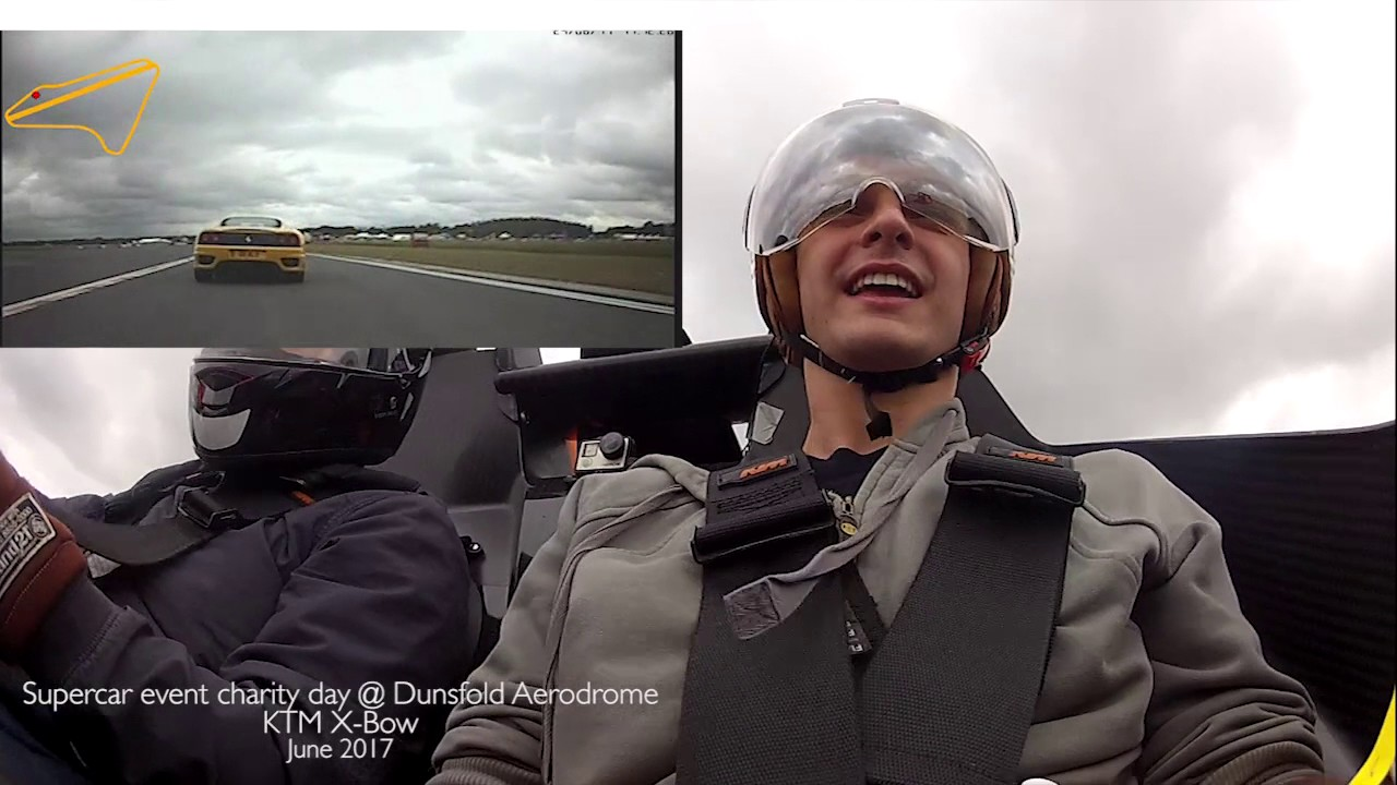 Passenger Ride In A XBow With An Open Face Helmet