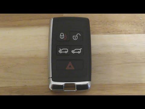 Jaguar / Land Range Rover Key Fob Battery Change – Replacement DIY
