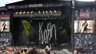Korn -Pop A Pill / Freak On A Leash at Download Festival 2011