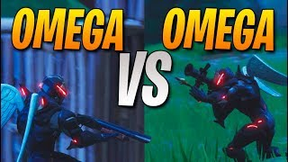 OMEGA VS OMEGA! FORTNITE: Battle Royale