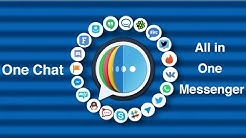 One Chat - All in one Messenger for WhatsApp, Fb, Skype & more