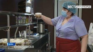 Приморские предприниматели продолжают готовить обеды для медиков края