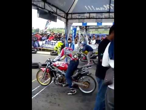 Ninja drag bike deltamas