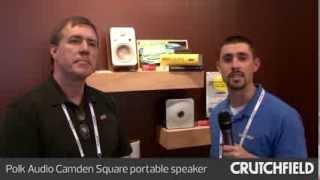 Polk Audio Camden Square portable speaker | Crutchfield Video