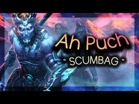 Smite - Absolute Scumbag Ah Puch MAX CDR - Ranked Grandmaster Duel