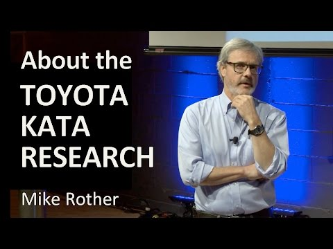 About the Toyota Kata Research