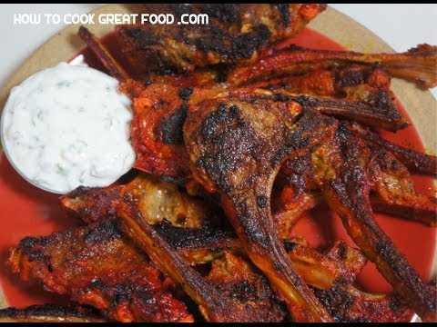 Indian spicy bbq lamb chops recipe grill grilled youtube indian spicy bbq lamb chops recipe grill grilled forumfinder Image collections