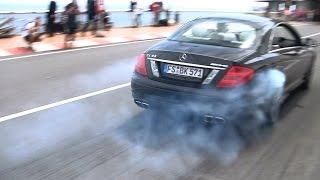 Mercedes-Benz CL63 AMG HOONING in Monaco!