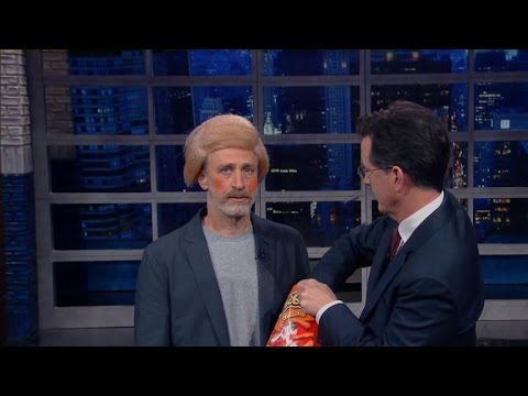 "Jon Stewart imitates Donald Trump on ""Late Show"" - YouTube"
