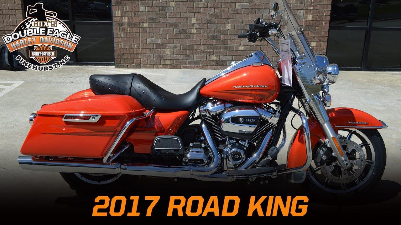 2017 harley-davidson road king flhr laguna orange - youtube