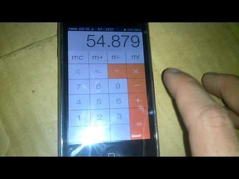 Iphone 3gs ios 6.0.1 sử dụng theme ios7