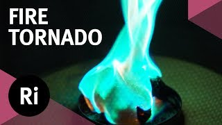 How to Make a Fire Tornado (A Wee One)