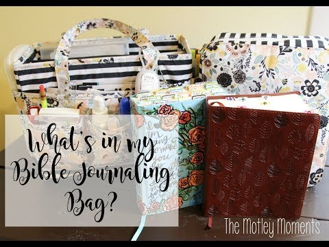 Bible Journaling Bags