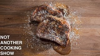 how to make BRIOCHE FRENCH TOAST