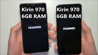Huawei P20 Pro vs Huawei Mate 10 Speed Test (Quick Version)