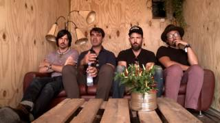 The Avett Brothers backstage interview at Tønder Festival 2016