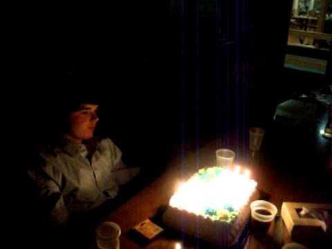 Pops Singing Happy Birthday to William
