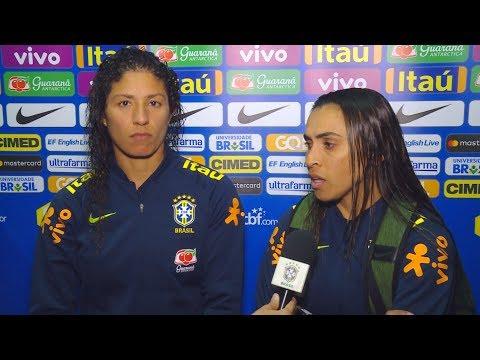 Seleção Brasileira Feminina: Marta e Cristiane juntas em mais um gol