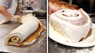 This Cafe Serves Giant 3-Pound Cinnamon Rolls