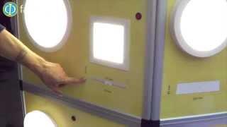 видео Светильники для натяжных потолков: потолочные светодиодные точечные, фото и дизайн, подойдет ли