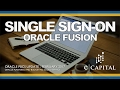 Single Sign-On (SSO) - Oracle Fusion [Oracle PBCS Release - Feb 2017]