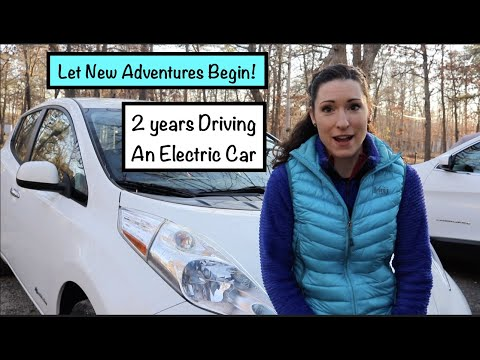 2 Years Driving A Fully Electric Nissan Leaf // My Review // Is Electirc Better?