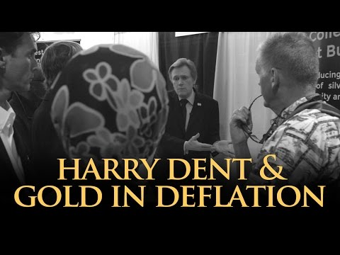 Harry Dent & Gold In Deflation - Mike Maloney
