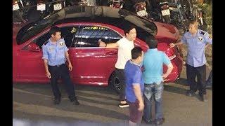 Danh hài Trường Giang, Xỉn, đụng xe, bị csgt cho thổi máy đo nồng độ