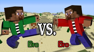 Brother VS Brother - Minecraft