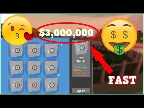 ROBLOX JAILBREAK HOW TO GET 3.000.000$ MONEY FAST [FASTEST WAY]