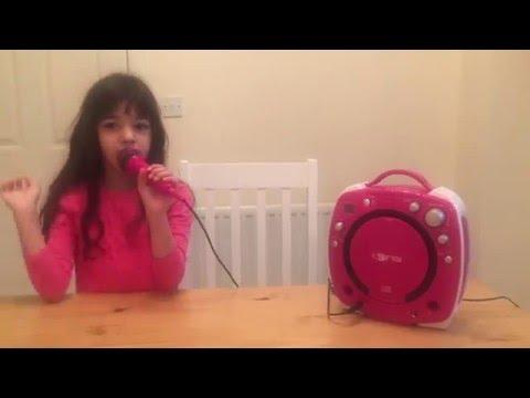 I-SING KIDS KARAOKE MACHINE - Girls Pink Edition