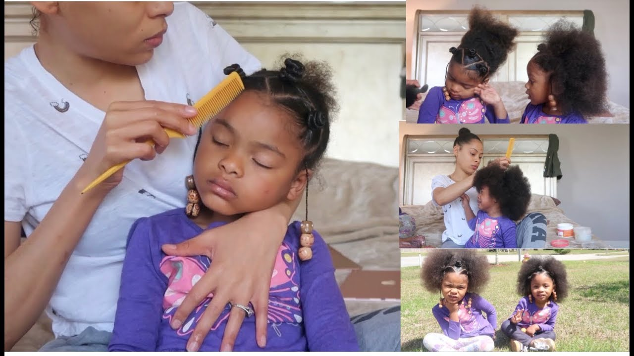 How To & Style: Cute Twinning Hairstyle for These Sisters From Start To Finish