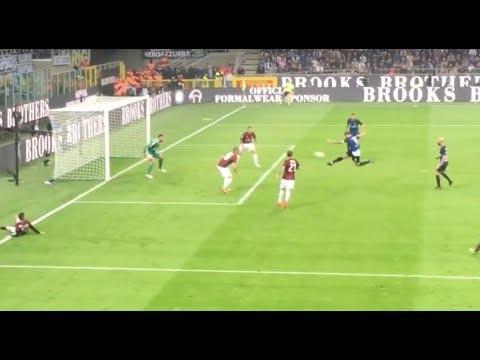 Inter-Milan 3-2 Gol Icardi in diretta con iPhone 15 10 2017