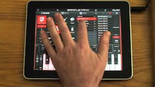 SampleTank 1.1 for iPhone/iPad. Tutorial PART 1 - SOUNDS