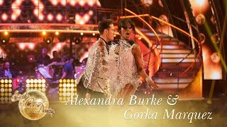 Alexandra Burke & Gorka Marquez Jive to 'Proud Mary' by Tina Turner - Strictly 2017