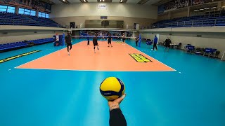 VOLLEYBALL FIRST PERSON | ZENIT ST. PETERSBURG | OPPOSITE | HIGHLIGHTS | POV | 54 episode