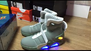 Back to the Future II Light Up Shoes Unboxing