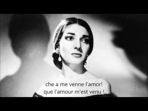 La mamma morta - Maria Callas - sous titré italien + français