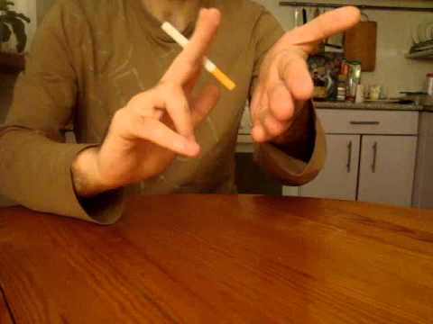Фокусы - Исчезновение сигареты - Обучение - Kaminskiy Vadim