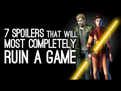 7 Spoilers That Would Most Completely Ruin a Game For You