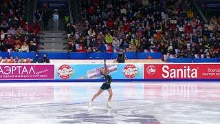 Дарья Усачева Произвольная программа Женщины Чемпионат России по фигурному катанию 2021