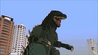 Godzilla 2003 Rig Showcase (Minecraft Battle Animation)