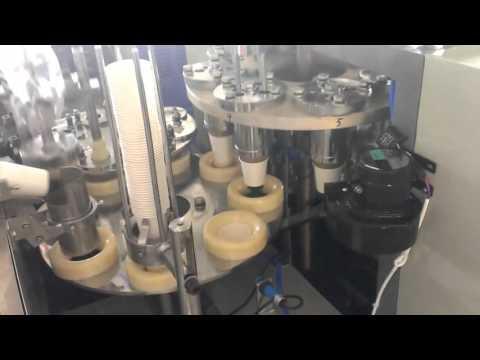 Máquina p/ fazer copo de papel 80ml a 350ml