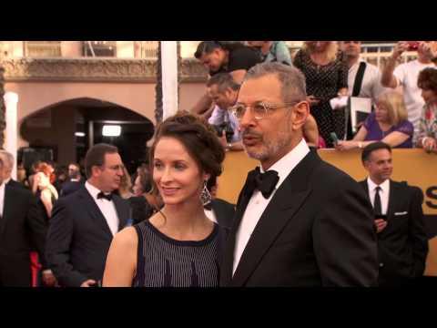SAG Awards 2015: Emilie Livingston and Jeff Goldblum Red Carpet