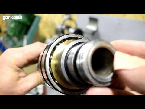 Ремонт передней бабки токарного станка ТВ16 часть 4