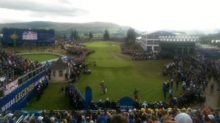 Ryder Cup 1st tee experience: Bubba Watson style