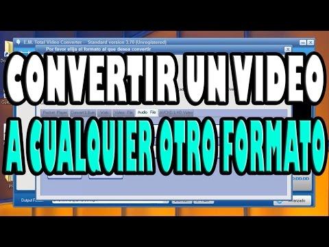 Como Convertir Videos A Otros Formatos  ( MP3 MP4 WMA WMV / 3GP MP4 AVI WMV )