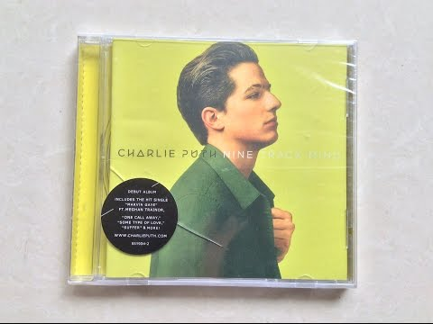 Charlie Puth - Nine Track Mind - Unboxing