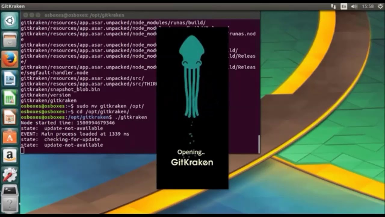 How to install Gitkraken on Ubuntu 17 04 new