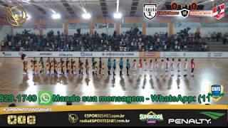 Supercopa do Brasil de Futsal Feminino - Jogo 01  - Taboão 1 X 2 Leoas - 14/04/2020